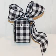 black and white wired ribbon ribbon black ribbon wired craft ribbon party favor wedding