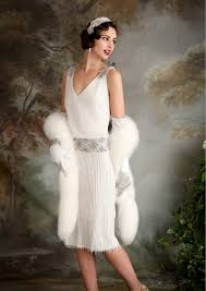 eliza jane howell elegant art deco inspired wedding dresses