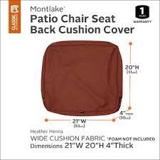 patio chair cushion slipcovers outdoor cushion slipcovers wayfair