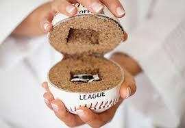 baseball wedding ring 17 of the most creative baseball wedding ideas we ve seen
