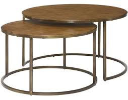 round nesting coffee table soho round nesting cocktail table by hammary furniture wright