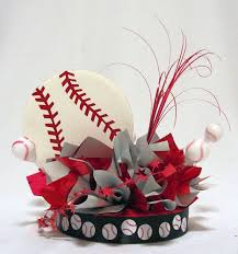 baseball centerpieces baseball a centerpiece decor