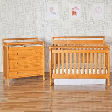Davinci Emily Mini Crib Mattress by Da Vinci 2 Piece Nursery Set In Oak Emily 4 In 1 Convertible