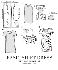 pattern a line shift dress merrick s art style sewing for the everyday girleasy shift