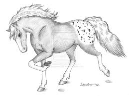 running horse drawing ideas using pencil cool easy drawings mode