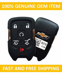 2015 2017 chevrolet tahoe suburban smart keyless remote key fob