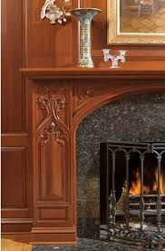 Greenbaum Interiors Woodwork Detail On A Fireplace Mantel By Greenbauminteriors