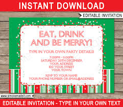 christmas cookie party invitations christmas party invitation templates