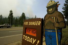 Wild Fire Danger by U S Forest Service Cancels 10 Million Plan For National Public