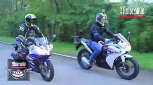 cbr bike 150 price bike shoot out the honda cbr 150r u0026 the yamaha yzf r15 youtube