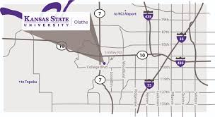where is k state olathe located