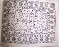 the oriental rug coloring book ruth heller 9780843102208 amazon