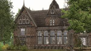 sims3 the gothic mansion 哥德古宅 ruby u0027s home design