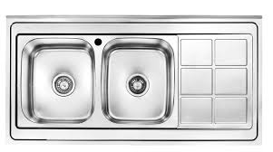 double sinks kitchen double bowl kitchen sink wayfair beautiful kitchen sink double