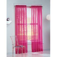 Light Pink Curtains by Sheer Blue Window Curtains