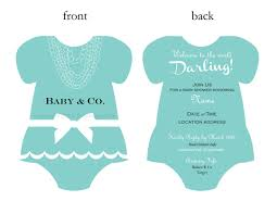 baby and co baby shower invitation templates