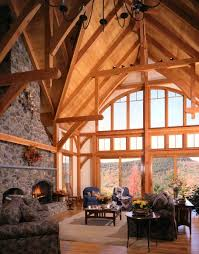 Timber Frame Home Interiors Timberpeg Timber Frame Blog Update