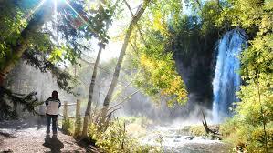South Dakota waterfalls images Spearfish falls black hills badlands south dakota jpg