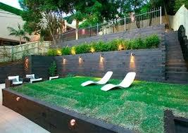 Steep Hill Backyard Ideas Backyard Landscaping Sloped Yard Sloped Backyard Amazing Ideas To