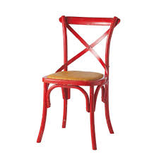 Chaise Maisons Du Monde by Chaise Bistrot Rouge Tradition Maisons Du Monde