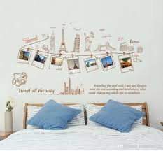 Nursery Stickers Wholesale Pvc Removable Large Wallpaper World Map Travel Photo