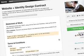 5 essential contract templates for the freelance designer designmodo
