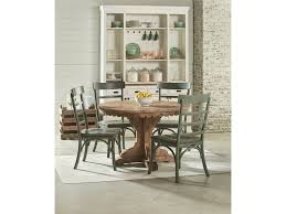 magnolia home dining room top tier pedestal table setting 6010601s