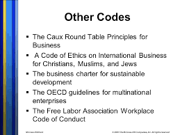 Caux Round Table Multinational Corporations Ppt Online Download