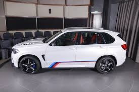 bmw jeep white bmw x5 m sports a great deal of factory and aftermarket parts