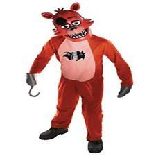 foxy costume rubies 245800 five nights at freddys foxy child costume ebay