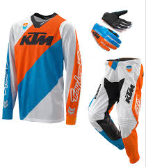 tld motocross helmets aomc mx 2017 ktm se slash gear set by tld white