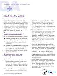 Nutrition Facts Label Worksheet Fact Sheets Womenshealth Gov