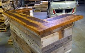Reclaimed Wood Reception Desk Hand Made Reception Desk Made From Antique Oak U0026 Barn Wood By