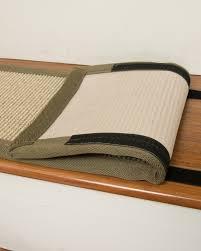Modern Stair Tread Rugs Meadow Sisal Carpet Stair Treads W Hook Loop Velcro Set Of 13