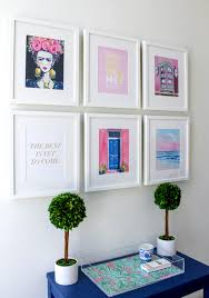 best gallery walls how to create a grid gallery wall