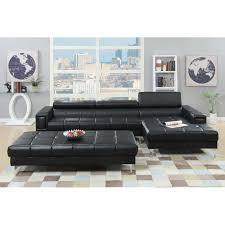 poundex bobkona hayden reclining sectional u0026 reviews wayfair