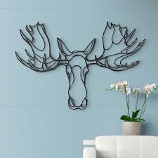 wooden stag wall wooden wall designer wood wall decor