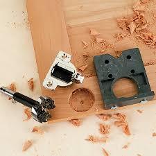 kitchen cabinet door hinge template concealed hinge boring jig