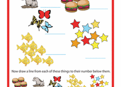 kindergarten counting u0026 numbers worksheets u0026 free printables