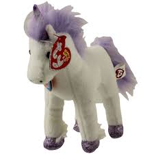 ty beanie baby 2 0 fable the unicorn 6 5 inch bbtoystore