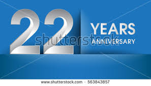new years or birthday party invitation stock image 25 years anniversary celebration logo flat stock vector 563844184