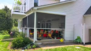 Retractable Awning With Screen Retractable Screen Porch By Clinton Awning 301 856 1170 Youtube