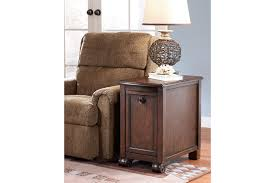 Power Chairside End Table Brookfield Chairside End Table Ashley Furniture Homestore