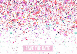 online save the date save the date pink dots invitation cards send real postcards