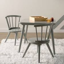 Bar And Stool Sets Grey Kids U0027 Table U0026 Chair Sets You U0027ll Love Wayfair