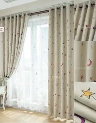 Nursery Curtains With Blackout Lining by Blinds U0026 Curtains Elegant Room Darkening Curtains For Window