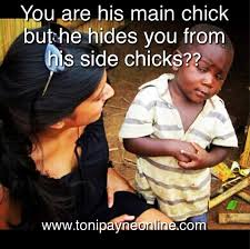 Funny Side Chick Memes - hilarious funny mainchick vs sidechick meme toni payne