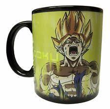 Dragon Coffee Cup Dragon Ball Z Super Saiyan Goku Heat Reactive Mug Ebay