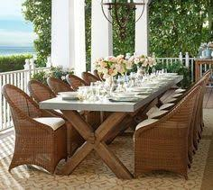outdoor rectangular dining table isola 7 pc rectangular dining set in natural finish patio