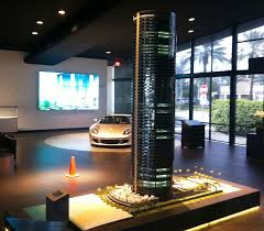 porsche design tower car elevator porsche design tower archives the next miami